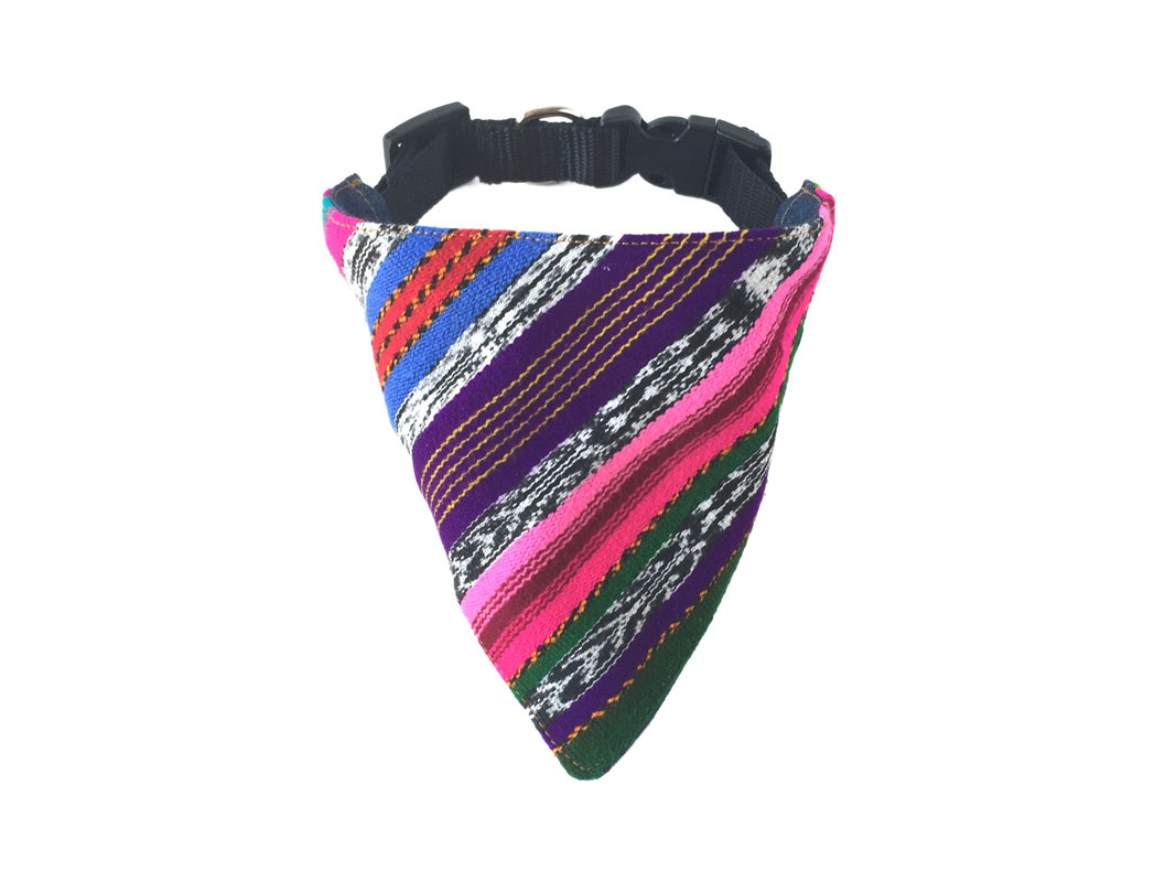 Unique Mayan dog collar bandanas